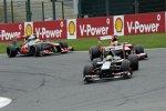 Esteban Gutierrez (Sauber) vor Felipe Massa (Ferrari)