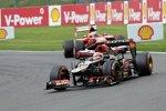 Romain Grosjean (Lotus) und Felipe Massa (Ferrari)