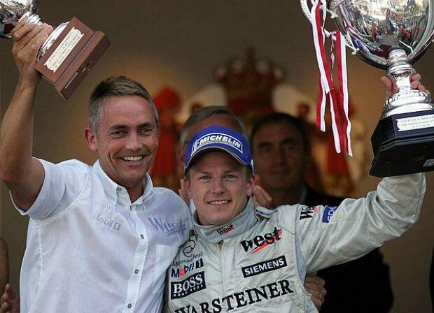 Whitmarsh und Räikkönen