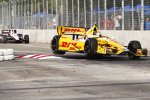 Ryan Hunter-Reay (Andretti) vor Will Power (Penske)