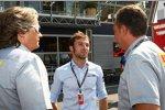 IndyCar-Pilot Luca Filippi im Fahrerlager von Monza