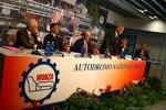 Pressekonferenz des Veranstalters in Monza vor dem Event