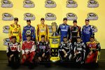 Chase 2013: Joey Logano, Martin Truex Jun., Kyle Busch, Carl Edwards, Matt Kenseth, Dale Earnhardt Jun., Greg Biffle, Kevin Harvick, Kurt Busch, Jimmie Johnson, Kasey Kahne und Clint Bowyer