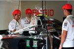 50 Jahre McLaren - gefeiert wird auch mit speziellen Kappen