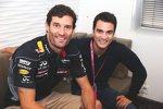 Mark Webber und Daniel Pedrosa
