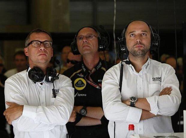 Eric Lux und Gerard Lopez