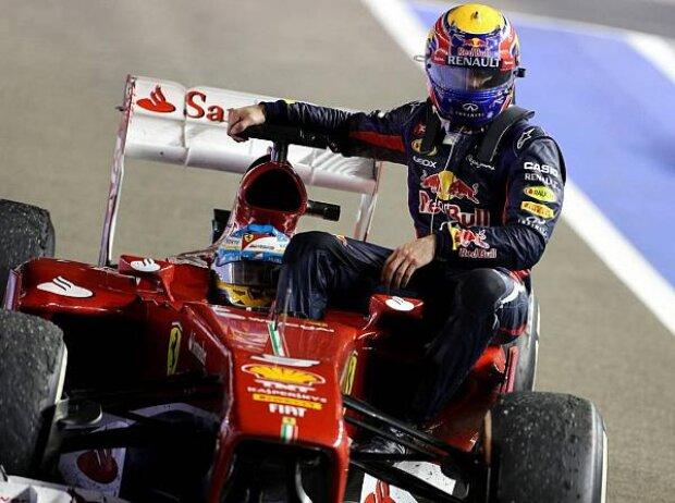 Fernando Alonso, Mark Webber