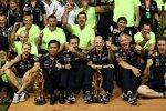 Red Bull jubelt über den Sieg in Singapur