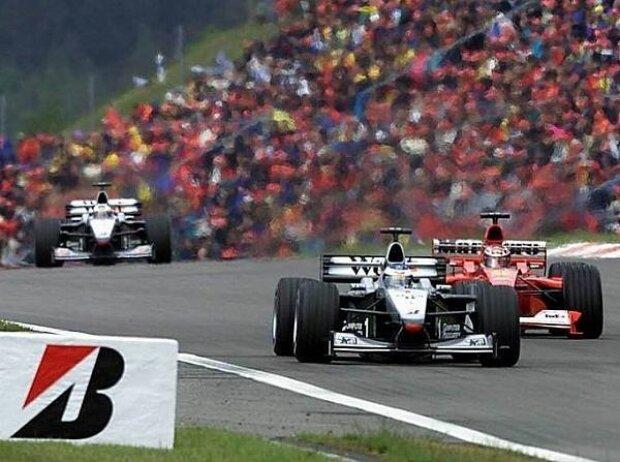 Mika Häkkinen, Michael Schumacher