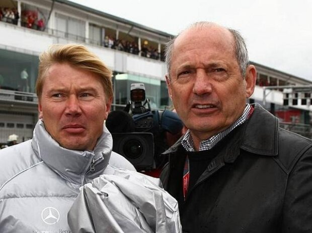 Mika Häkkinen, Ron Dennis