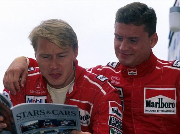 Mika Häkkinen, David Coulthard