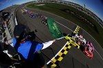 Start zum Nationwide-Rennen mit Austin Dillon und Justin Allgaier an der Spitze