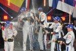 Sebastien Loeb (Citroen), Daniel Sordo (Citroen) und Jari-Matti Latvala (Volkswagen)