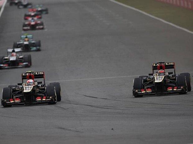 Romain Grosjean, Kimi Räikkönen