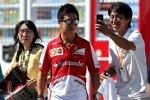 Local Hero: Kamui Kobayashi ist Ferrari-Testfahrer