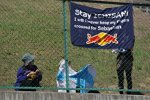 Sebastian Vettel (Red Bull) wird nicht von allen Fans ausgebuht