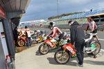 Die Honda-Bikes von Stefan Bradl