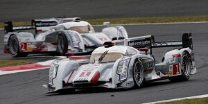 Enges Qualifying: Pole für Audi in Fuji