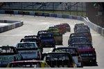 Race-Action im Truck-Rennen