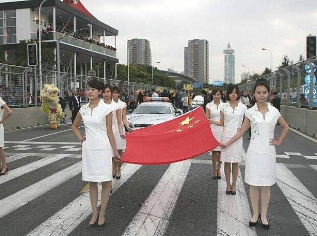 China-Flagge