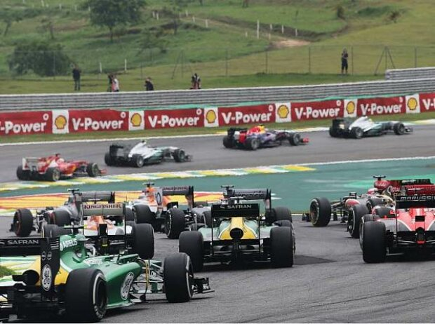 Start zum Formel-1-Saisofinale 2013 in Interlagos