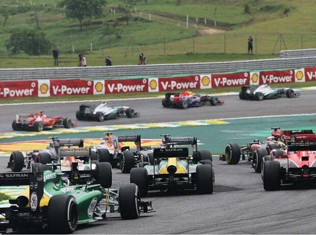 Start zum Formel-1-Saisofinale 2013 in Interlagos
