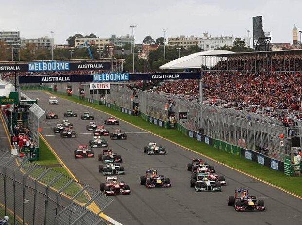 Start in Melbourne 2013