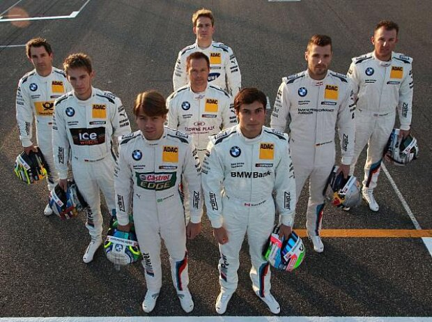 Timo Glock, Marco Wittmann, Augusto Farfus, Andy Priaulx, Dirk Werner, Bruno Spengler, Martin Tomczyk, Joey Hand