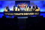 Bühne für Matt Kenseth (Gibbs), Greg Biffle (Roush), Kyle Busch (Gibbs), Jeff Gordon (Hendrick) und Joey Logano (Penske)