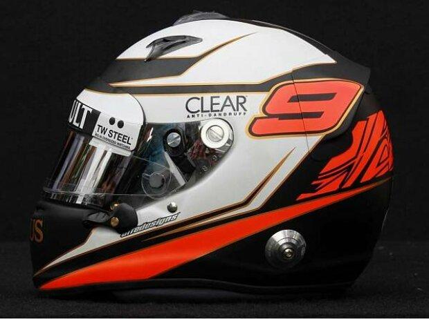 Helm von Kimi Räikkönen aus der Saison 2012