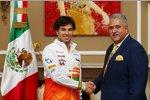 Sergio Perez und Vijay Mallya