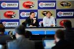 NASCAR-Tests in Charlotte: Die Medien werden informiert