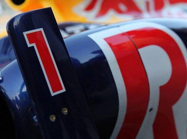 Sebastian Vettels Startnummer 1