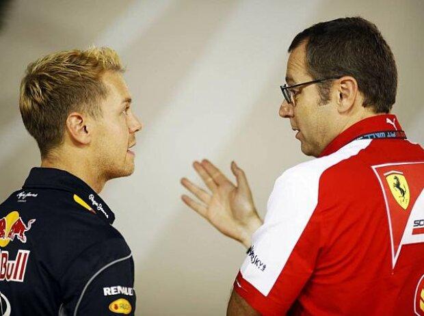 Sebastian Vettel, Stefano Domenicali