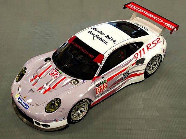 Porsche 911 RSR USCC Porsche North America