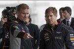 David Coulthard und Sebastian Vettel (Red Bull)