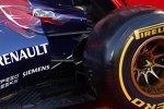 Hinterradaufhängung des Toro-Rosso-Renault STR9