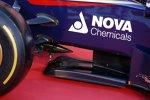 Unterboden des Toro-Rosso-Renault STR9