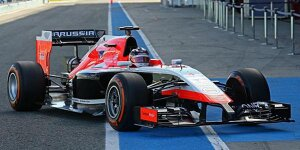 Marussia bringt den MR03: Der Discounter-Turbo