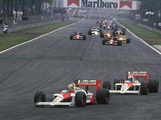 Alain Prost, Ayrton Senna, 1988
