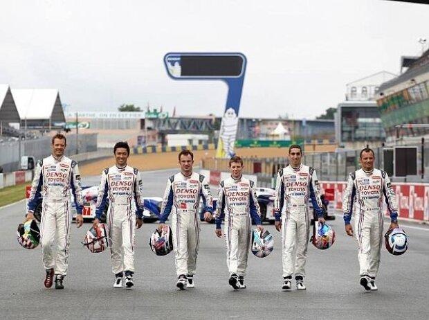 Alexander Wurz, Kazuki Nakajima, Anthony Davidson, Sebastien Buemi, Stephane Sarrazin