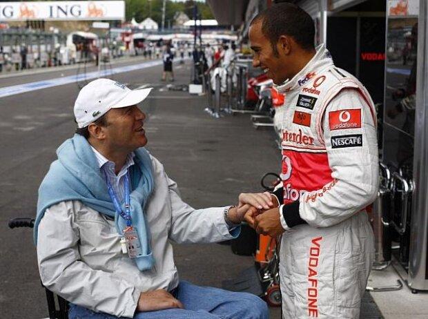 Lewis Hamilton, Philippe Streiff