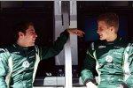 Robin Frijns und Marcus Ericsson (Caterham)