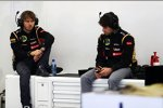 Charles Pic und Nicolas Prost (Lotus)