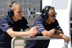 Felipe Massa (Williams) und Valtteri Bottas (Williams)