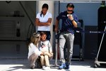Felipe Massa (Williams) mit Familie