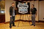 Dale Earnhardt Jun. und Daytona-Streckenchef Joie Chitwood