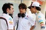 Esteban Gutierrez (Sauber) und Adrian Sutil (Sauber)