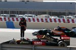 Romain Grosjean (Lotus) und Nico Hülkenberg (Force India)