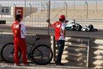 Fernando Alonso (Ferrari) und Nico Rosberg (Mercedes)